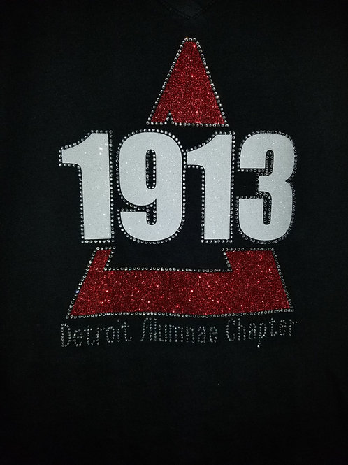 Detroit Alum Chapter 1913 Custom T shirt
