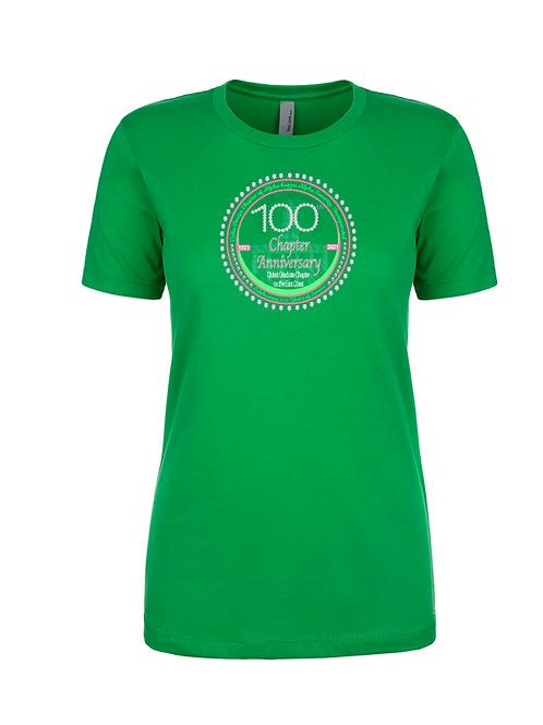 Delta Omega 100 Tshirt - Green