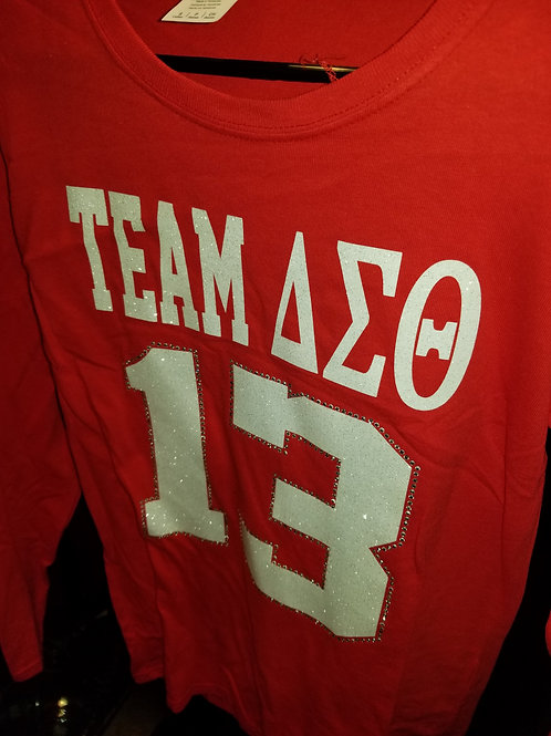 Long Sleeve Team DST 13 - Red