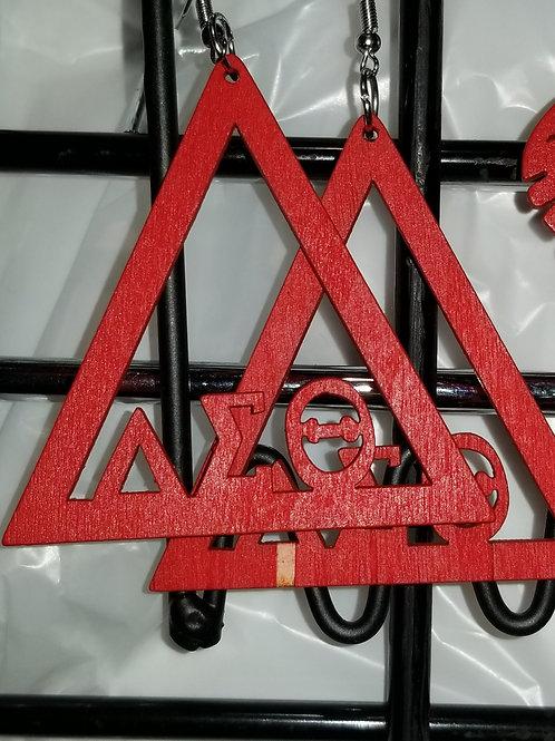 DST Pyramid/Diamond Earrings