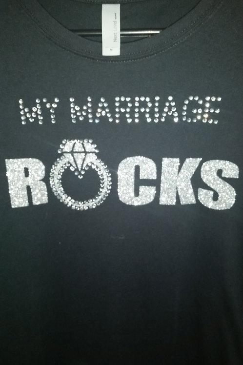 My Marriage Rocks - Rhinestone