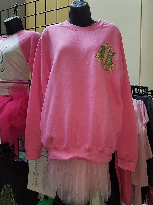 Pink or Green Oversized Sweatshirt