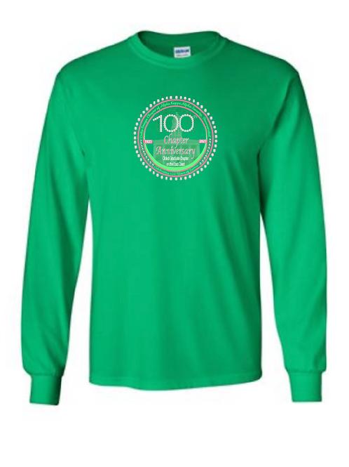 Delta Omega 100 LONG SLEEVE - Green
