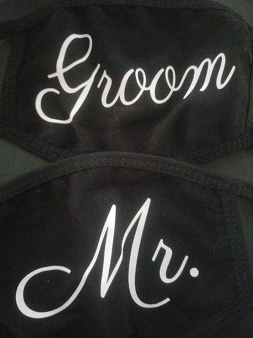 Mr. or Groom MATTE Mask