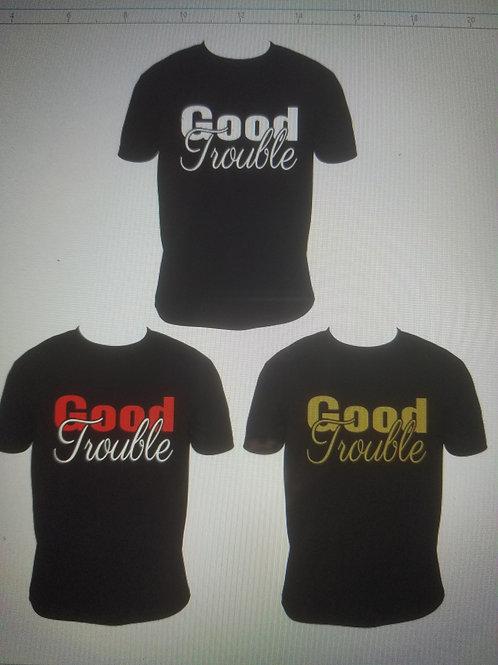 Good Trouble - Black T MEN'S Matte
