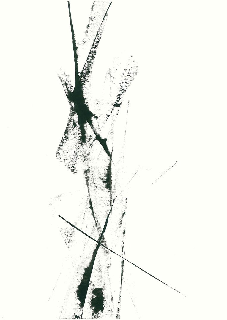 SFB6, Acryl auf Aquarellpapier, 42 x 30 cm, 2020