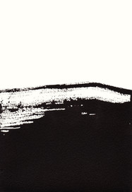 SWB4.3, Tusche auf Aquarellpapier, 26 x 18 cm, 2019