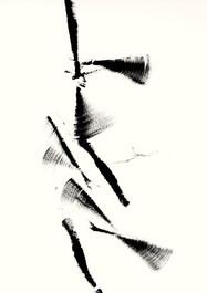 SDB3.3, Tusche, auf Büttenpapier, 70 x 50 cm, 2017
