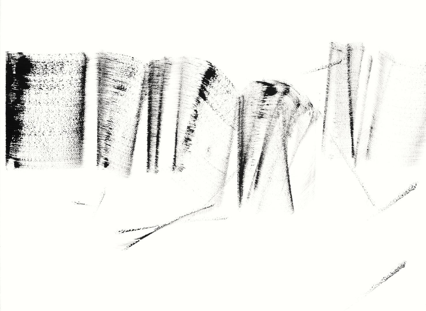 SHB3, Acryl auf Aquarellpapier, 56 x 76 cm, 2015