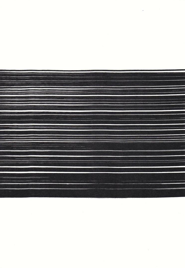 SSB9, Tusche auf Aquarellpapier, 42 x 30 cm, 2014