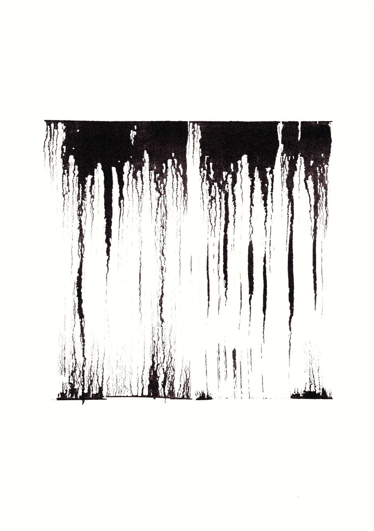 SRB5, Tusche auf Aquarellpapier, 30 x 21 cm, 2016