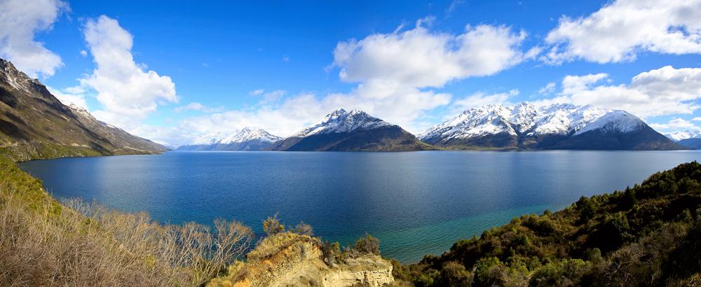 Deep Glacial lakes.