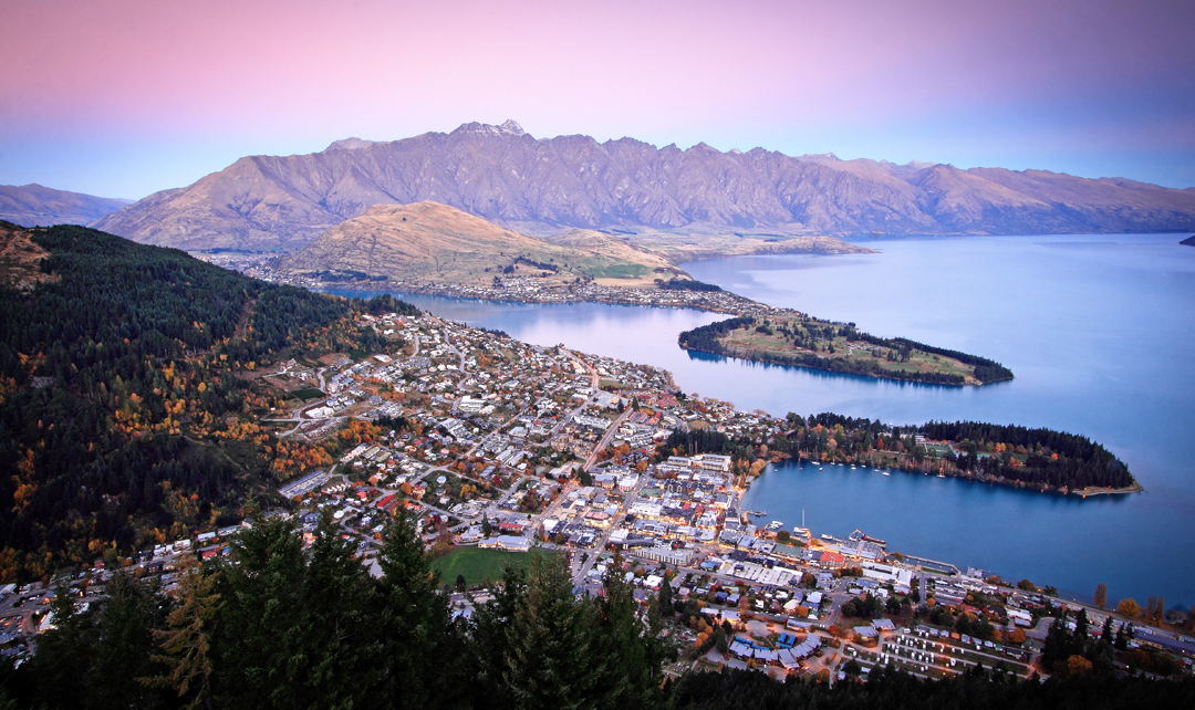 Sunset Photography in Queenstown.