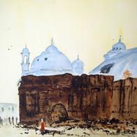 Behind the Facade, Gyanvapi Mosque, Varanasi, Uttar Pradesh, India