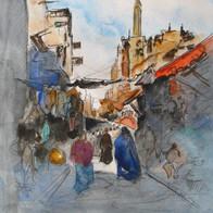 Old Cairo Bazaar, Egypt