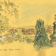 View from Praha Castle 1, Czech Republic