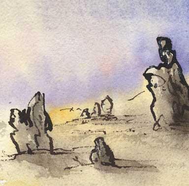Pinnacles, Cervantes, Western Australia, Australia