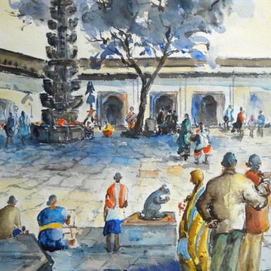 Sacred Interior, Morgaon: Moreshwar (Mayureshwar)