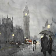 Wet Night, London, England