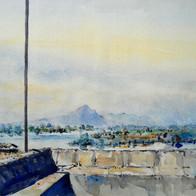 View from the Wall, Ozar: Vighneshwar Vinayak