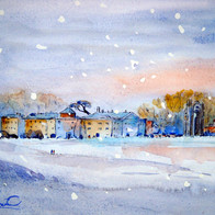 Winter Calm, Walsingham, England