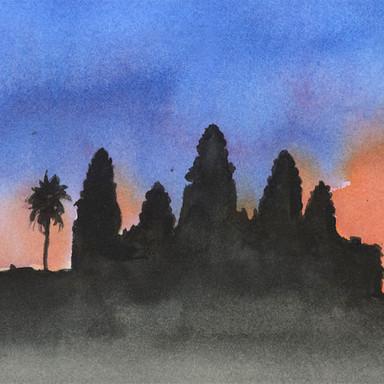 Angkor Tom, Cambodia