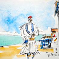 Quiet Beach, Patra, Greece