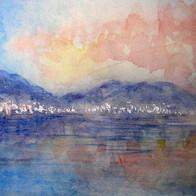 Flamingo Flotila, Lake Nakuru, Kenya