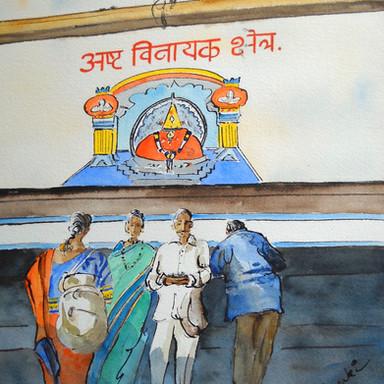 Deity's Image, Pali: Ballaleshwar