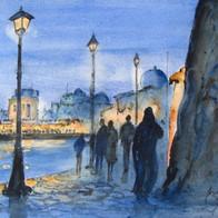 Evening Stroll, Bezert, Tunisia