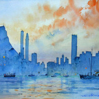 Hong Kong Sunset, China