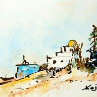 Country House, near Bir Bourgba, Tunisia