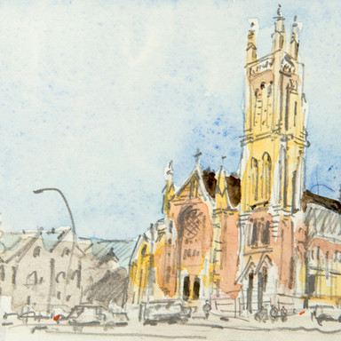 St Francis Xavier Cathedra, Adelaide, SA, Australia