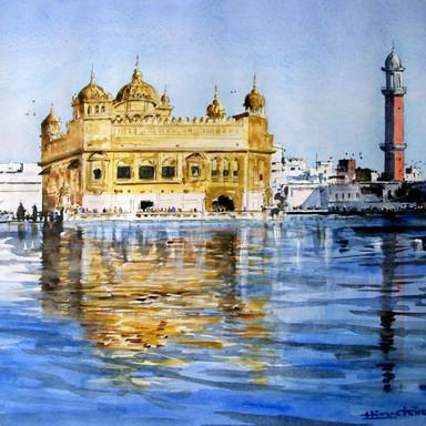 Religious Might, Golden Temple, Amritsar, Punjab, India