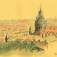 View from Praha Castle 2,Czech Republic