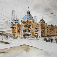 Flinders Station Melbourne, VIC, Australia