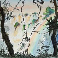 Rainbow, Iguazu Falls, Argentina
