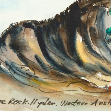 Wave Rock, Hyden, WA, Australia