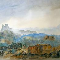 Heritage Site,Hampi, Karnataka, India