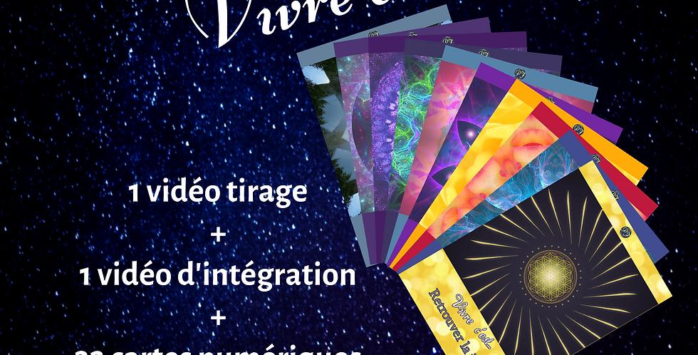 """L'oracle numérique """"Vivre c'est ..."""" et sa vidéo d'intégration"""