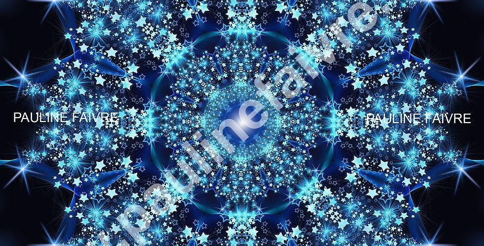 "Mandala Thématique ""Noël"""