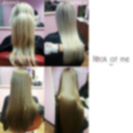 Keratin straightening and Botox Hair