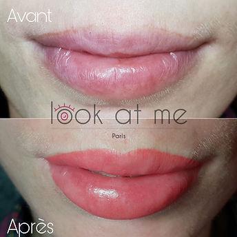 Maquillage permanent des lèvres Paris