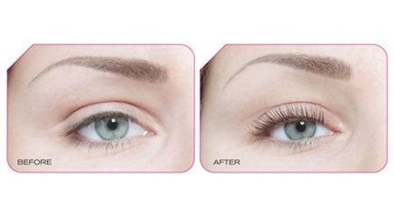 Luxury perm eyelashes