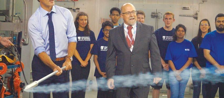 Prime Minister $10 million boost for UOIT