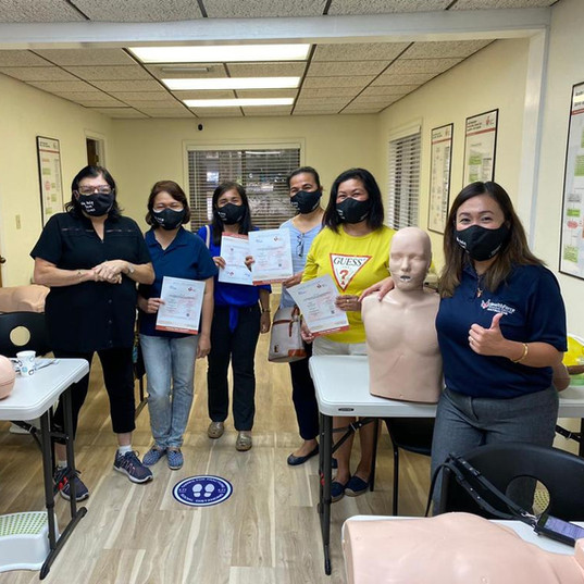 BLS class in Healthforce - Gainesville, Florida