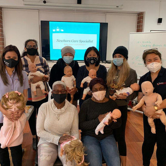 Newborn Care Specialist - Baby Nurse Class