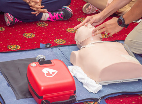 First Aid CPR AED | HANDS-ONLY CPR VS. CPR WITH BREATHS