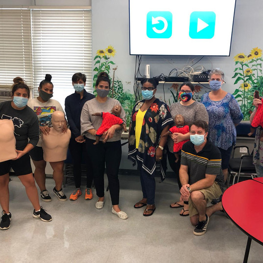 First Aid CPR AED - off site class