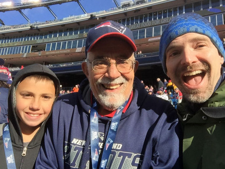 Without CPR and AED, This Patriots Fan Would Have Died